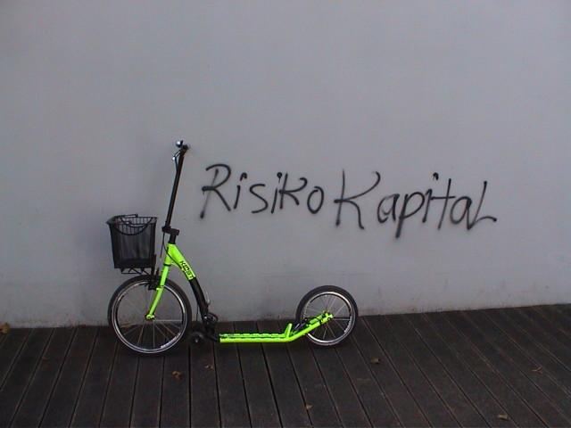 Klapproller Risiko Kapital
