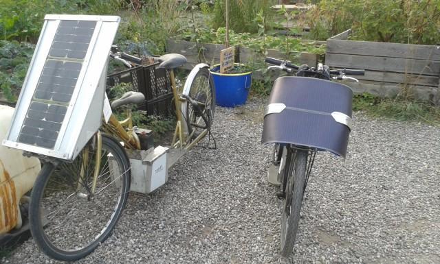 Solar-Roller alt und neu